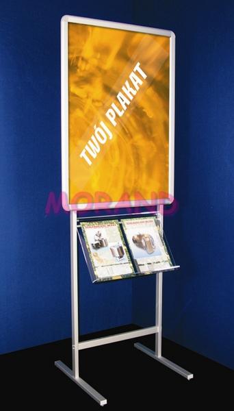 Fantastyczny Stojak na plakat B1 i foldery A4 WM12
