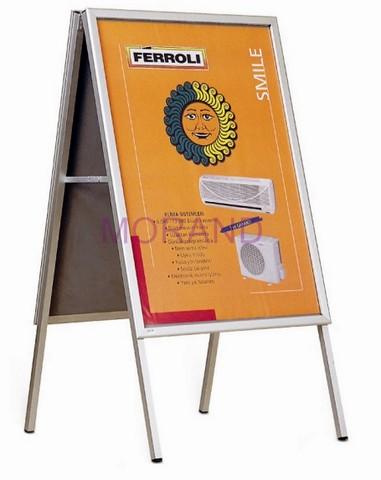 Wybitny Potykacz stojak reklam tablica ramka stojaca dwustr 70x100 AY85