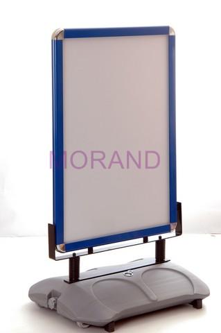 Zupełnie nowe Potykacz stojak wodoodporny reklam tablica ramka stojaca dwustr A1 VC17